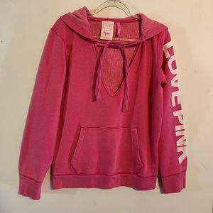 PINK Victoria's Secret  Hoodie Large